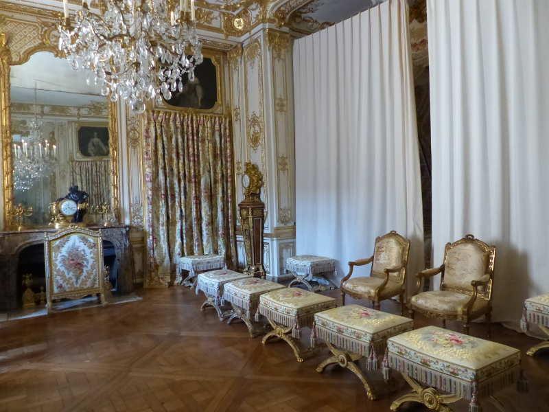 Versailles petits appartements for Chambre louis xvi versailles